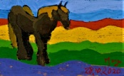 2020.10.28 ex-02 PakjeKunst, jong Belgisch paard
