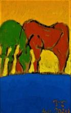 2020.11. 04 ex-02 PakjeKunst, twee Friese paarden